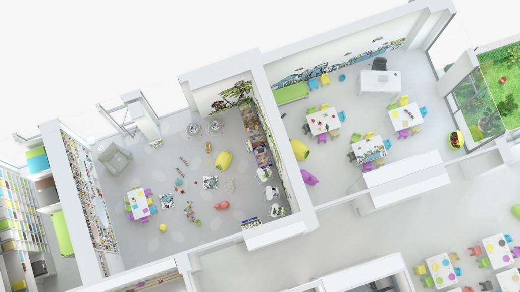 3D vizualizace interiéru 2