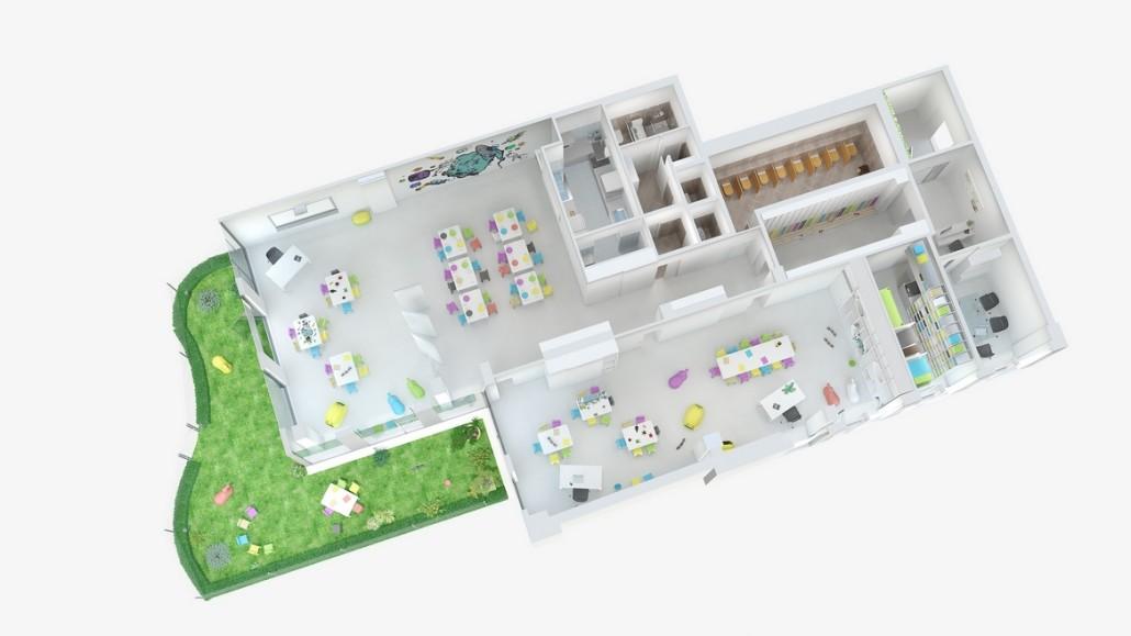 3D vizualizace interiéru 3
