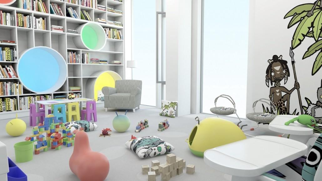 3D vizualizace interiéru 4