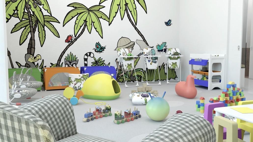 3D vizualizace interiéru 5